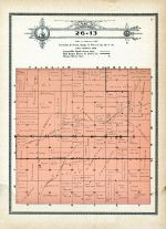 Township 26 Range 13, Chambers, Holt County 1915